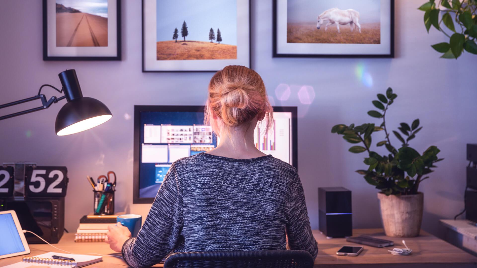 Hoher Stromverbrauch durch Corona und Home-Office